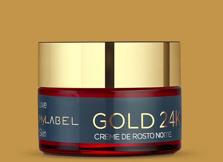 O creme de noite MyLABEL Gold hidrata profundamente a sua pele. Para uma pele mais luminosa, lisa e repousada pela manhã.