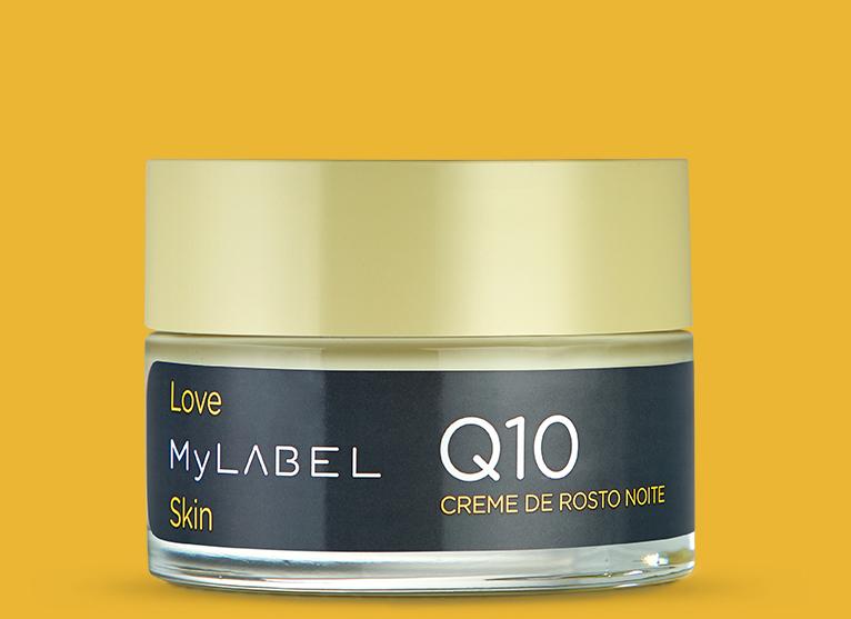 O creme de noite MyLABEL Q10, nutre a sua pele em profundidade, previne e combate as primeiras rugas. Com manteiga de karité e óleo de argão.
