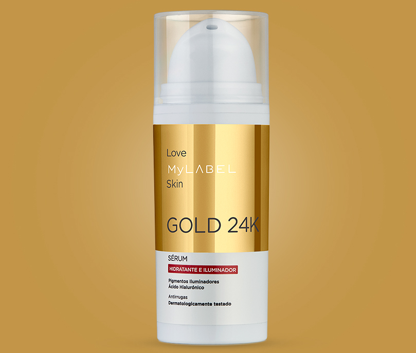 MyLABEL Gold 24k skin