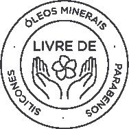 Selo MyLabel - Livre de parabenos, Óleos Minerais