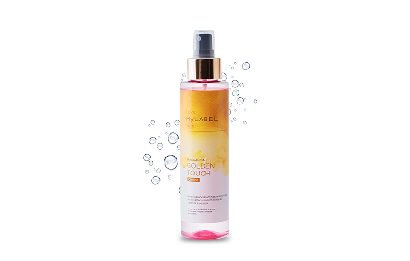 Body Mist Golden Touch MyLABEL Interior