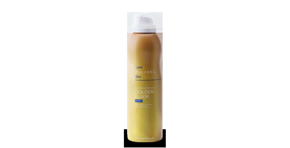 Mousse Hidratante Golden Elixir MyLABEL