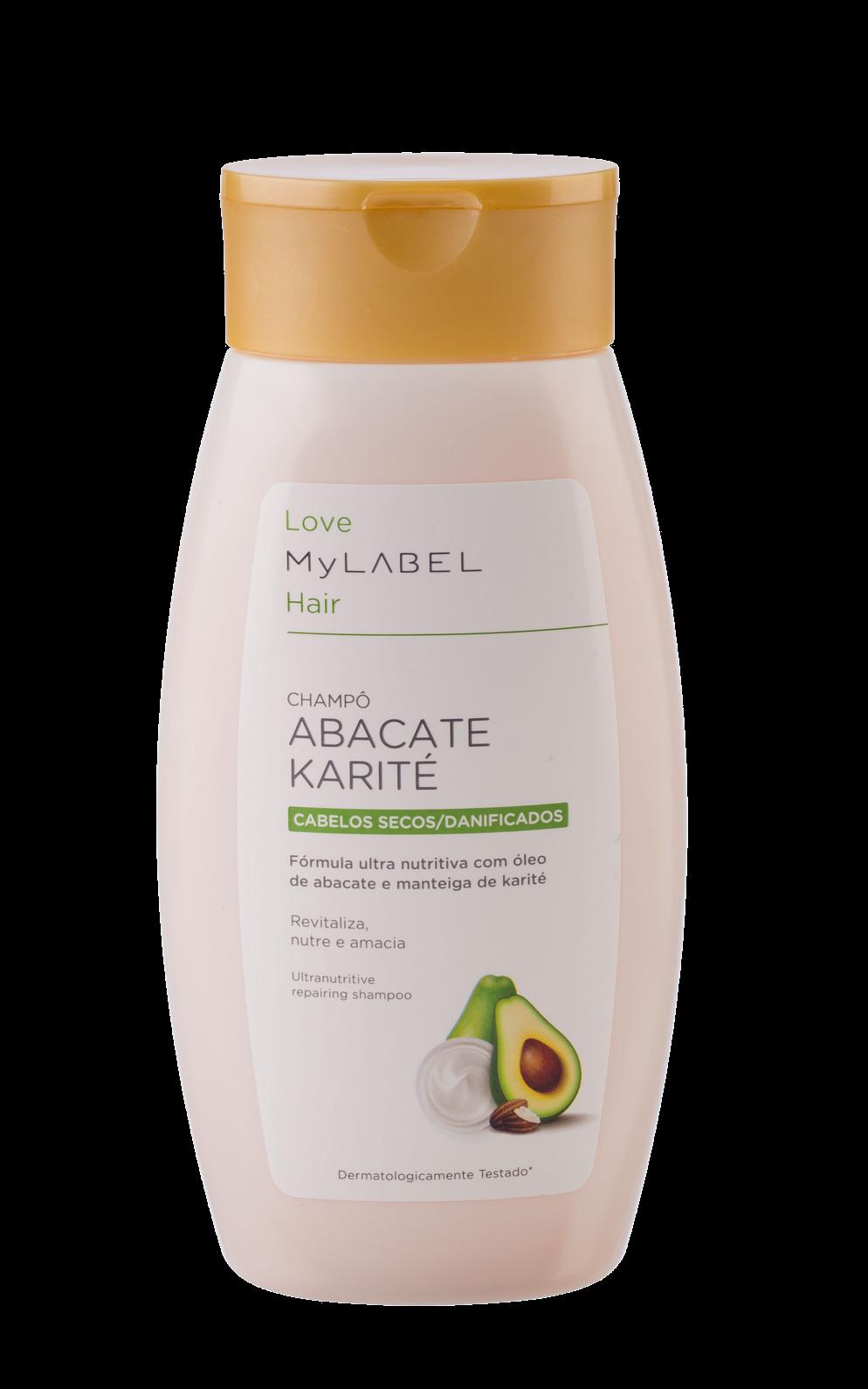 Champô Naturals Abacate/ Karité