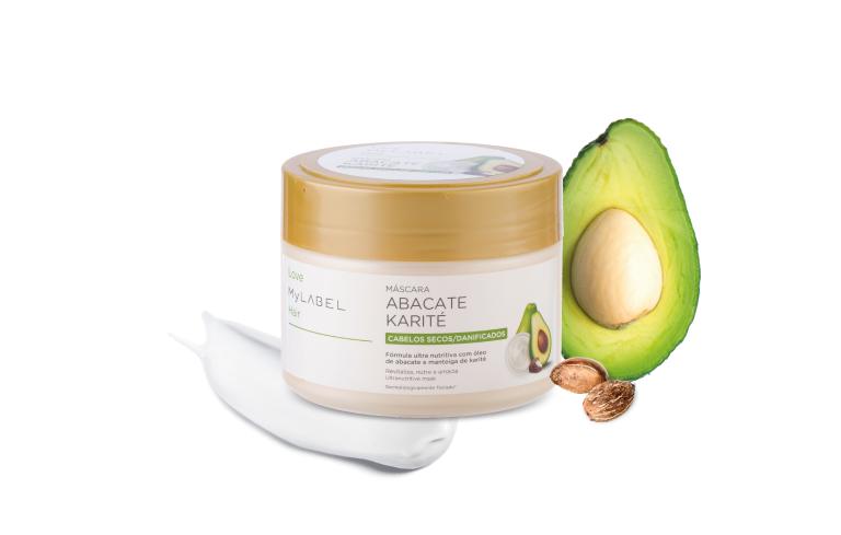 Máscara Naturals Abacate/ Karité