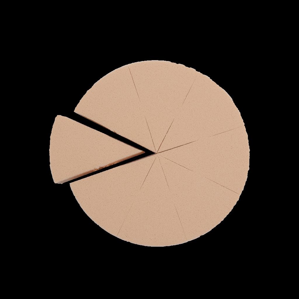 Esponja porções latex listagem