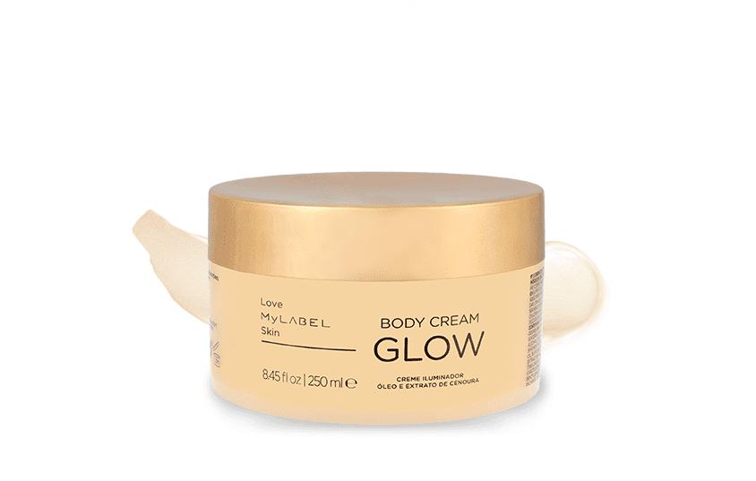 Body Cream Glow Detalhe
